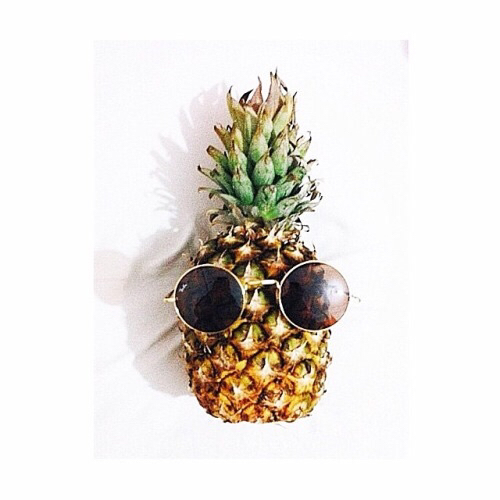 Pretty Girl Swag Wallpaper Fruit Hipster Pineapple Shades Silly Sunglasses