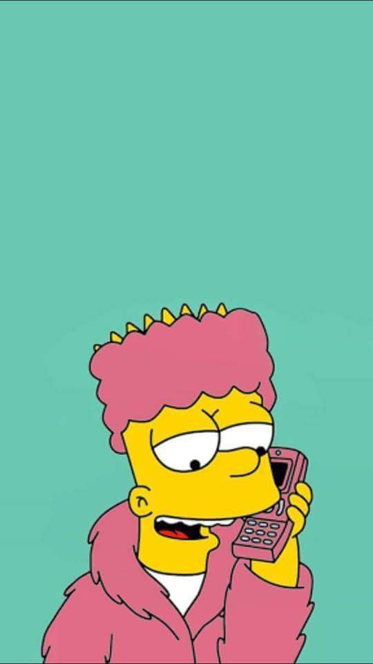 The Simpsons Iphone Wallpaper X Image 3532870 By Bobbym On Favim Com