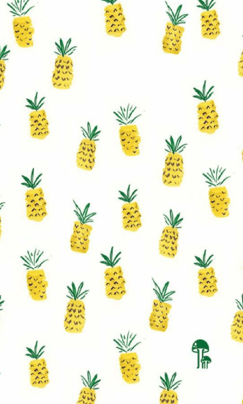 Cute Pineapple Iphone Wallpaper Wp Image 3545230 By Bobbym On Favim Com