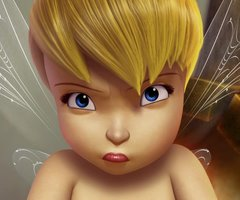 Tinkerbell Wallpaper For Iphone 6 Angry Cute Fairy Tinkerbell Image 241342 On Favim Com