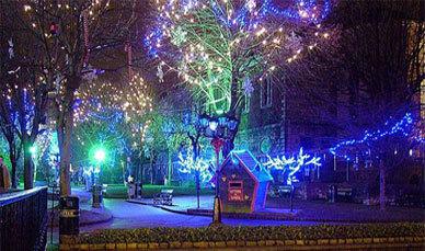 Niagara Falls Wallpaper Iphone Christmas Lights Photography Winter Wonderland Image