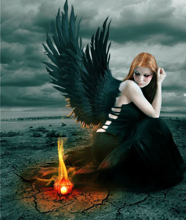 Sad Cute Boy Wallpaper Angel Artymuse Beautiful Black Broken Image 264579