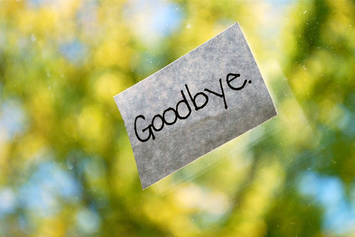 goodbye, love, note, quote, text - image #264339 on Favim - goodbye note