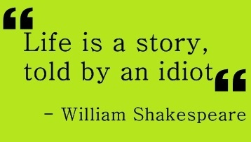 Girl Style Wallpaper Citat Idiot Life Shakespeare Story Image 278083 On