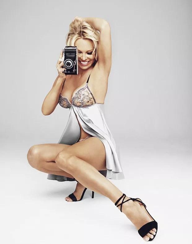 Pamela Anderson (Foto: Divulgação/Coco de Mer)