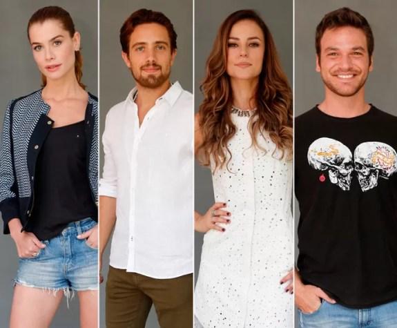 Elenco de 'Além do Tempo' muda visual para segunda fase da trama (Foto: Fábio Rocha/Gshow)