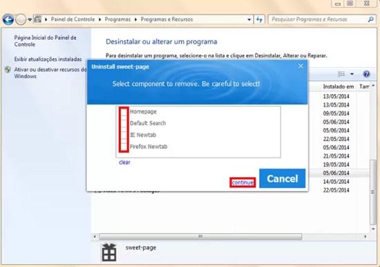 Como remover SweetPage.com do computador  Dicas e Tutoriais