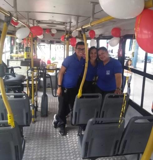 Ônibus circula pelo centro da cidade até o campus da UFPA, no bairro do Guamá. — Foto: Arquivo Pessoal