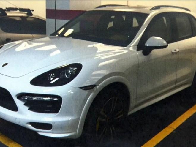 Porsche de Eike Batista foi usado por juiz (Foto: Reprodução/GloboNews)