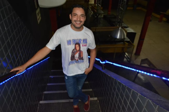 Ralphe Amorim, organizador do show em RO (Foto: Jonatas Boni/G1)
