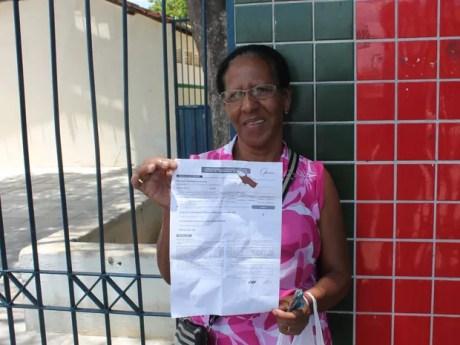 ENEM 2016- DOMINGO (6) - PETROLINA (PE) - sem estudar há 32 anos, cozinheira Maria Rita Ferreira conclui estudos e faz Enem pela 1ª vez em Petrolina (Foto: Juliane Peixinho/ G1)