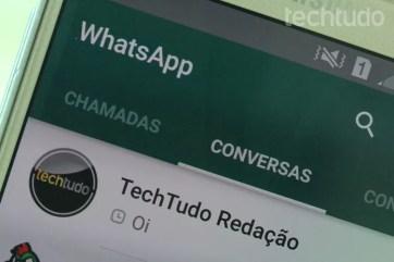[marca] WhatsApp (Foto: Aline Batista/TechTudo)