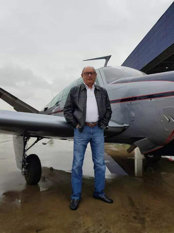 Uma das vítimas foi identificada com Marinho, piloto e proprietário da aeronava que caiu, segundo o delegado Vicente Gomes (Foto: Delegado Vicente Gomes)