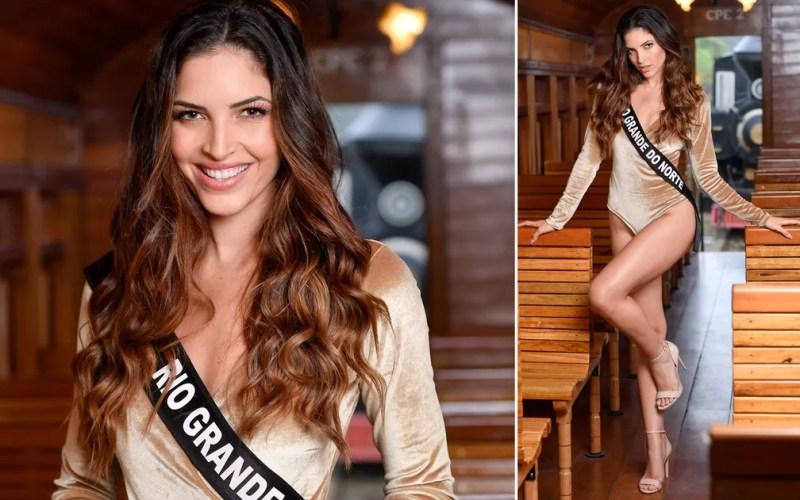 Erika Fontes, 24 anos, modelo, é a Miss Rio Grande do Norte — Foto: Rodrigo Trevisan/Divulgação/Miss Brasil