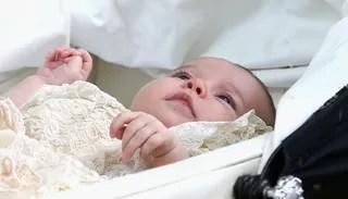 Batizado da Princesa Charlotte (Foto: AFP)