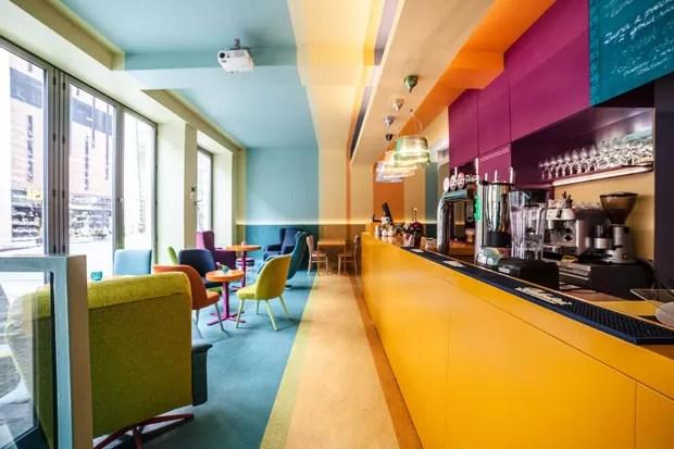 Todas As Cores Em Um So Cafe Casa Vogue Restaurantes