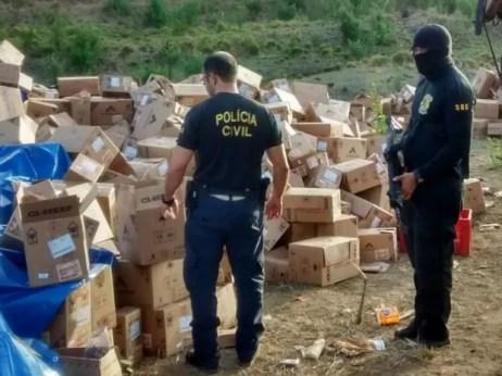 Quadrilha foi desarticulada em Quipapá  (Foto: Divulgação/Polícia Civil)