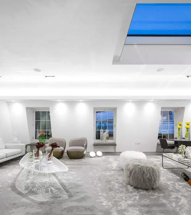 3d Wallpaper For Master Bedroom Um Lar Branco Com Mob 237 Lia Estrelada Casa Vogue