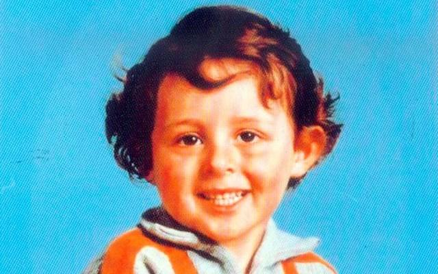 Grégory Villemin tinha 4 anos quando foi encontrado morto no rio Vologne, na França (Foto: Handout via Reuters)