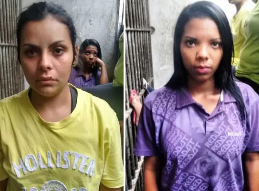 As mulheres são companheiras de presos da unidade de São Vicente  (Foto: G1)