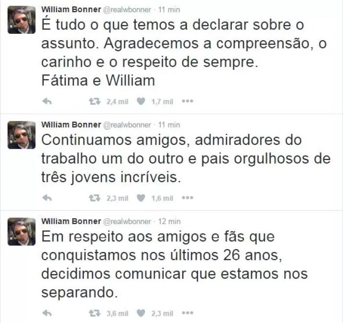 William Bonner (Foto: Twitter / Reprodução)