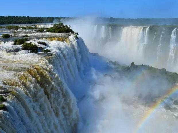 Iguazul Falls Wallpaper G1 Excesso De Chuvas No Paran 225 Faz Vaz 227 O Das Cataratas