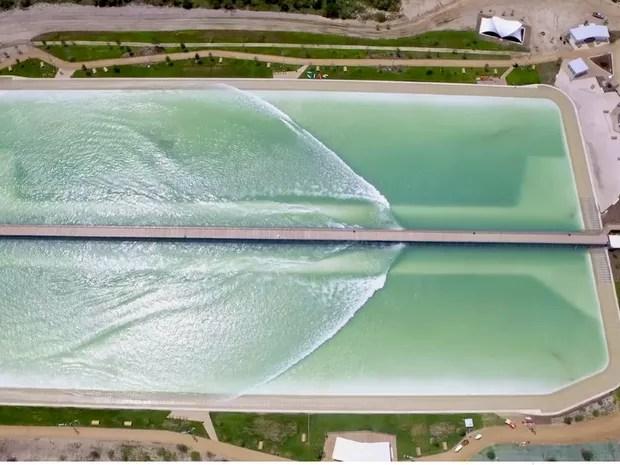 O parque vai ter duas opções de ondas: reef e inside (Foto: Divulgação)