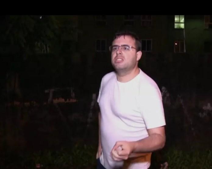 O programa Profissão Repórter tentou conversar com Marcelo Mello, em 2015 (Foto: Reprodução/TV Globo)