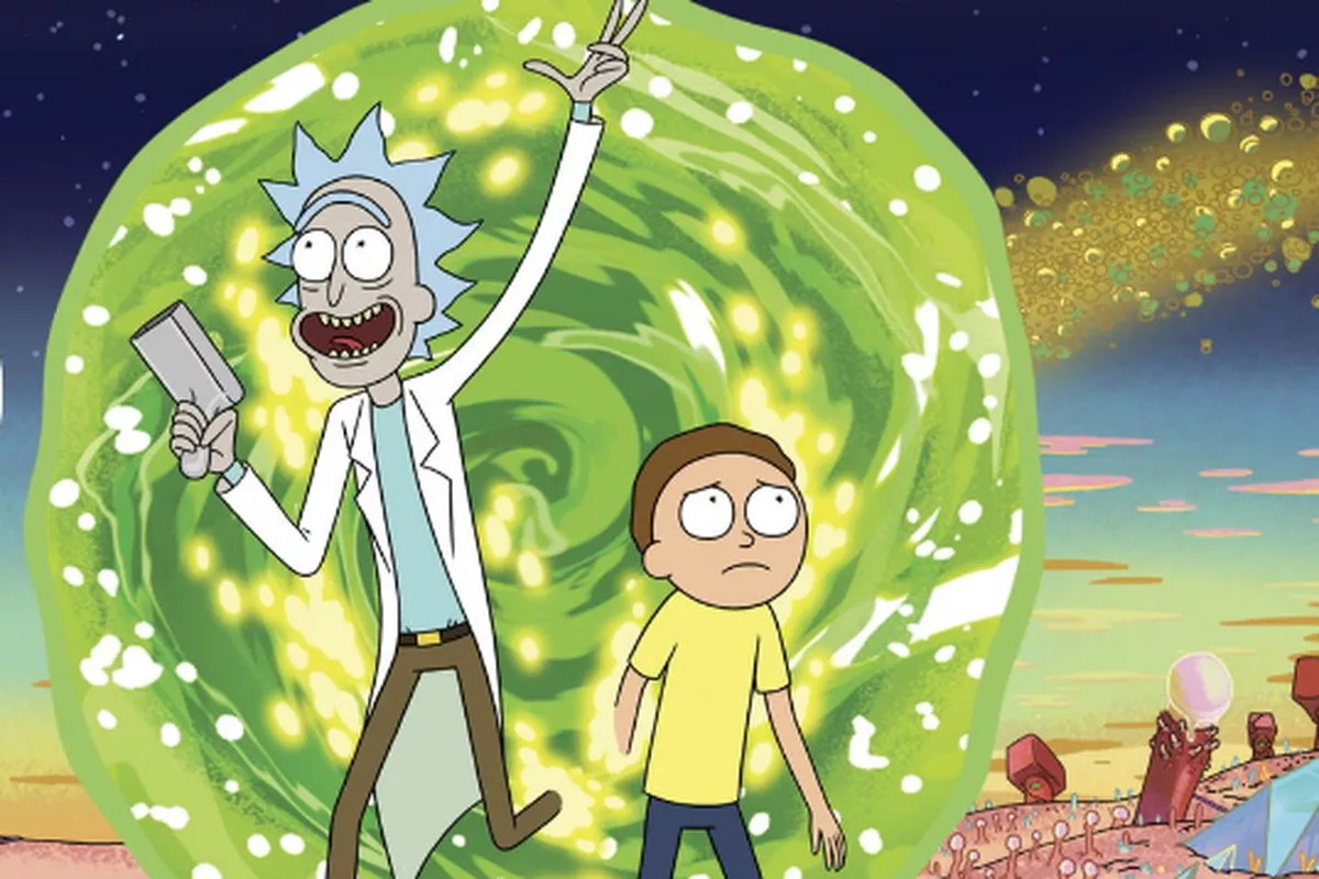 Falling Weed Live Wallpaper For Computer 5 Motivos Para Come 231 Ar A Assistir Rick And Morty Agora