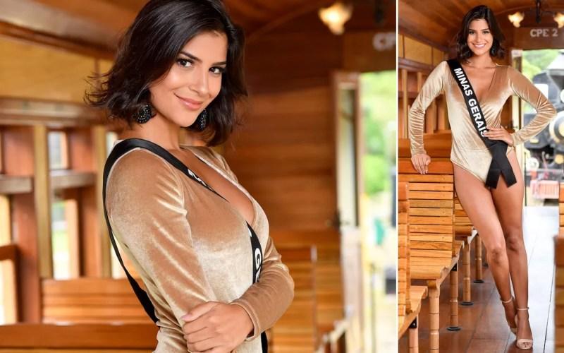 Júlia Horta, 24 anos, jornalista e apresentadora, é a Miss Minas Gerais — Foto:  Rodrigo Trevisan/Divulgação/Miss Brasil