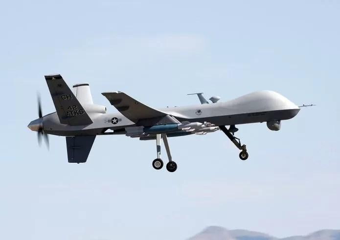 Drone utilizado pelo exército norte-americano (Wikimedia Commons)