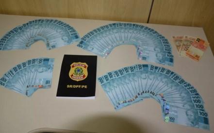 PF realiza maior apreensão de notas falsas deste ano em Pernambuco