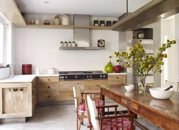 Decor Do Dia Cozinha Rustica E Clean Casa Vogue Decor