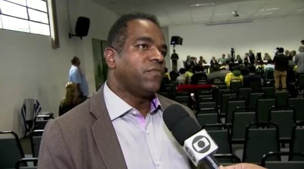 Luiz Carlos dos Santos, preso nesta terça (Foto: Reprodução/TV Globo)