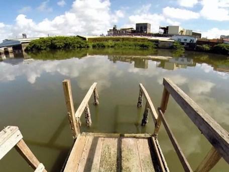 Navegabilidade Capibaribe (Foto: Reprodução / TV Globo)