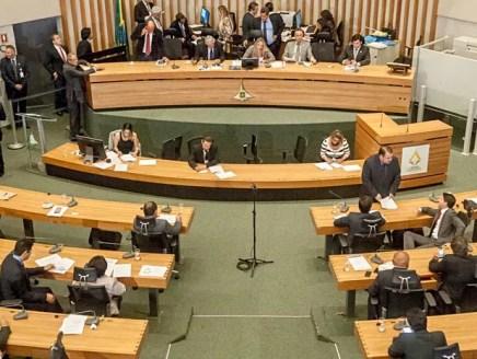 Plenário da Câmara Legislativa do DF nesta quinta (30), último dia antes do recesso  (Foto: Carlos Gandra/CLDF)