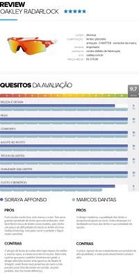 TESTAMOS: culos Radar Lock - eu atleta | globoesporte.com