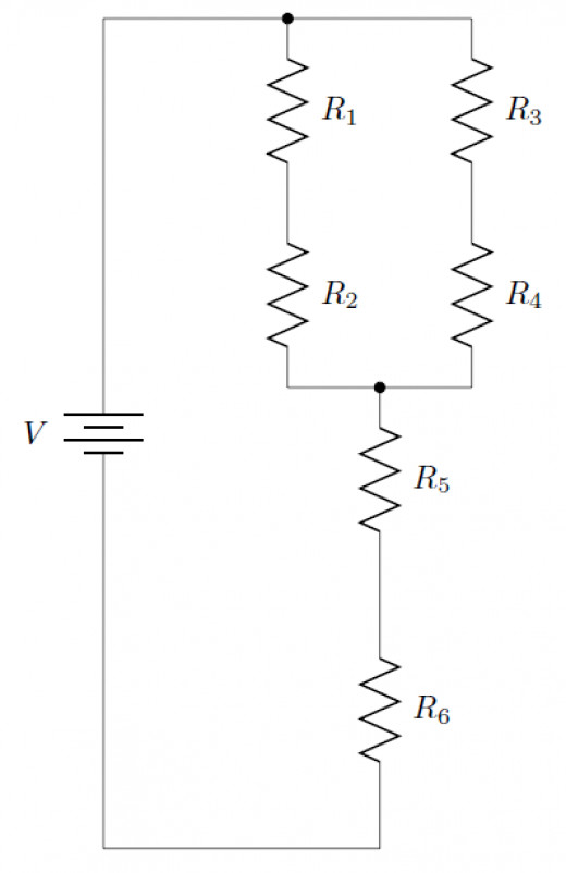 let r 1 and r 2 be the resistors in the parallel circuit these two