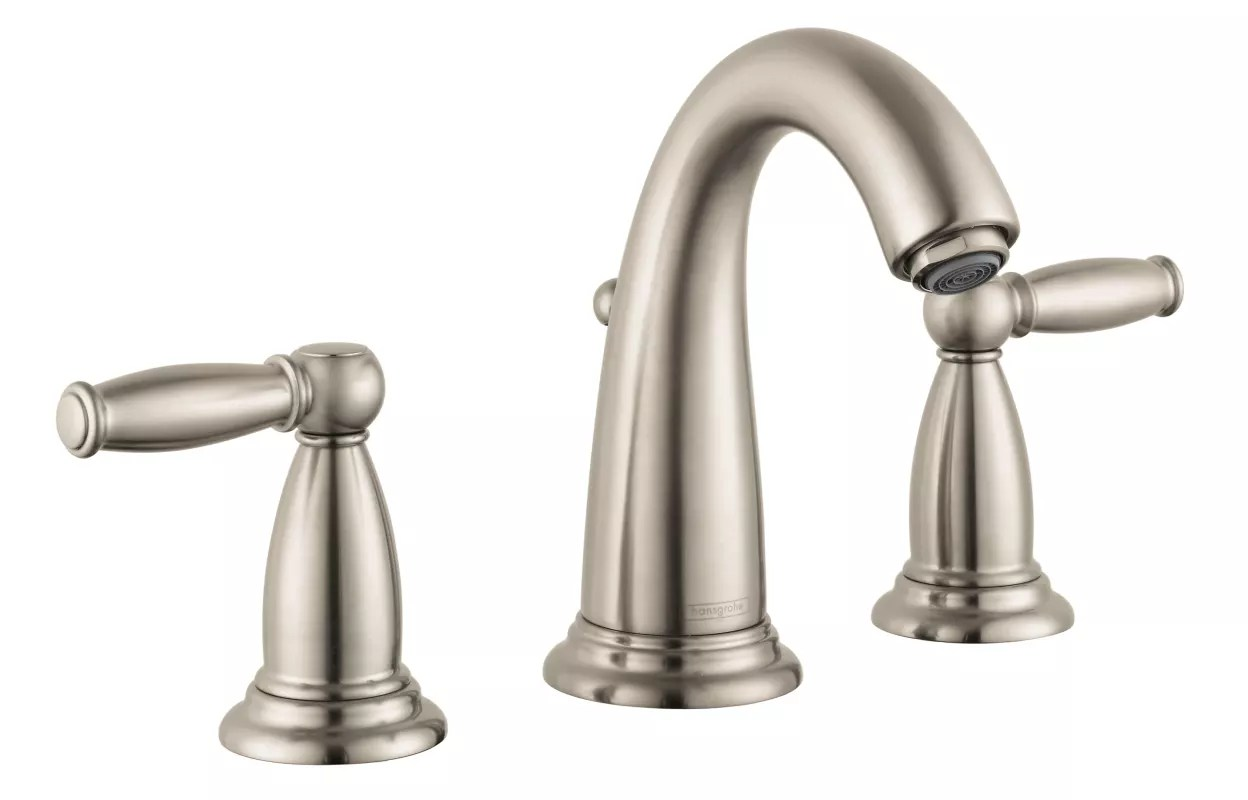Brushed Nickel Bathroom Faucets Clearance Faucet 06117820 In Brushed Nickel By Hansgrohe