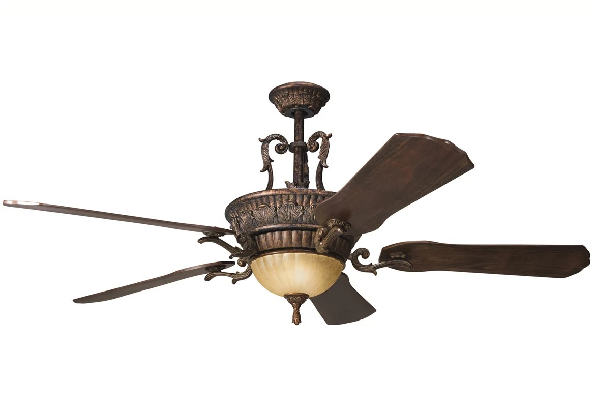 Long Blade Ceiling Fan Kichler 300008bkz Berkshire Bronze 60 Quot Indoor Ceiling Fan