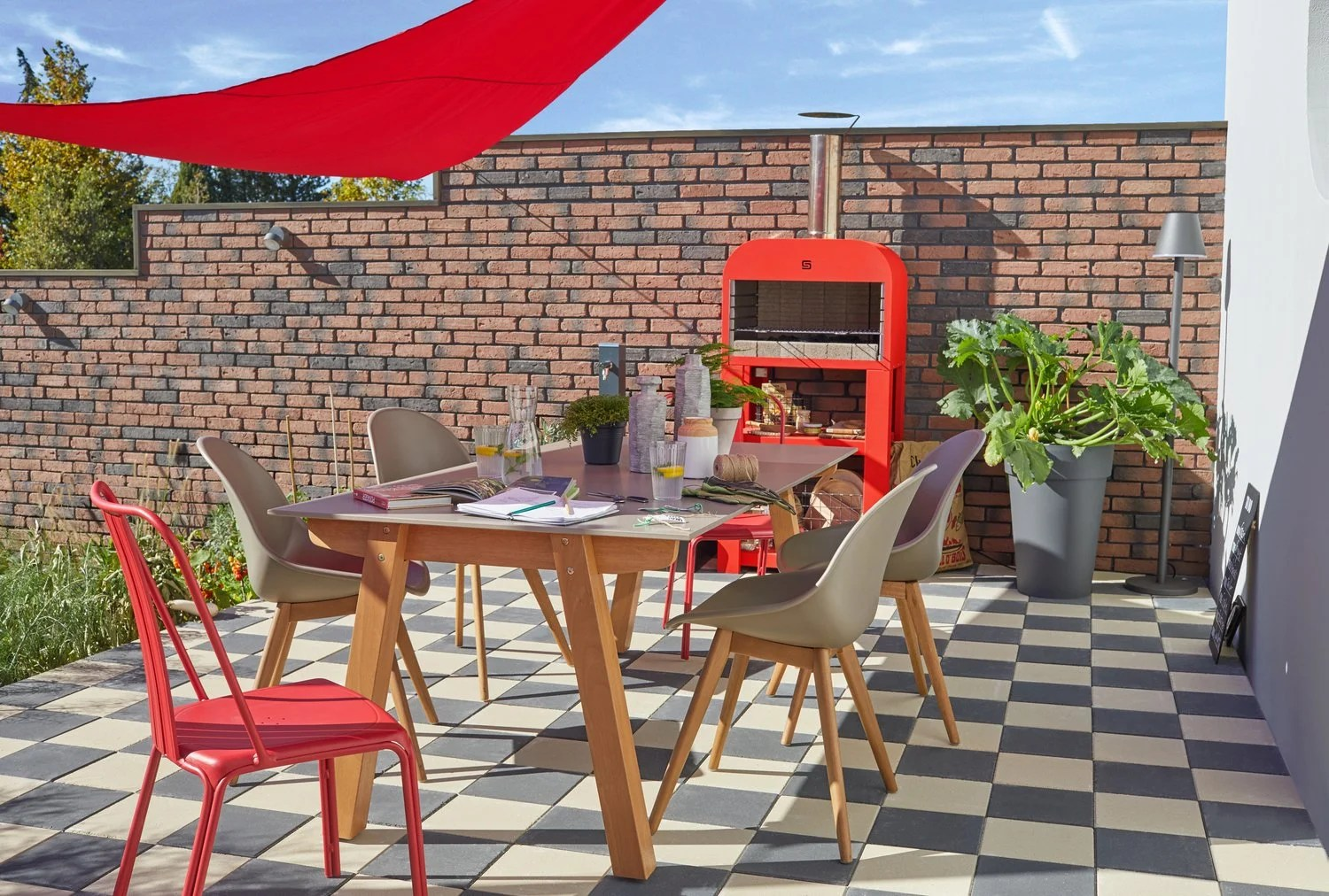Mobilier Exterieur Gris La Nouvelle Collection De Salon De Jardin 2019 Leroy Merlin