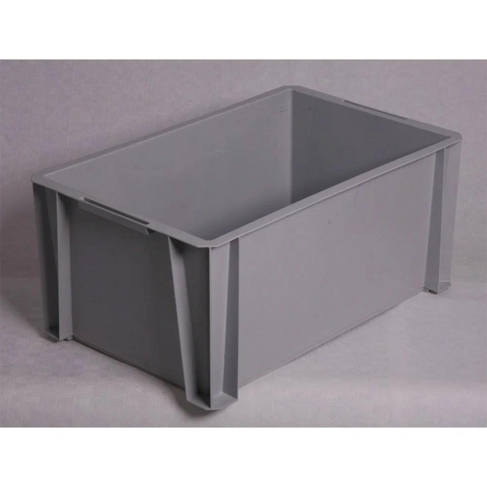 bac de manutention stacking box plastique l 55 x p 35 x h 24 5 cm - Grand Bac Plastique