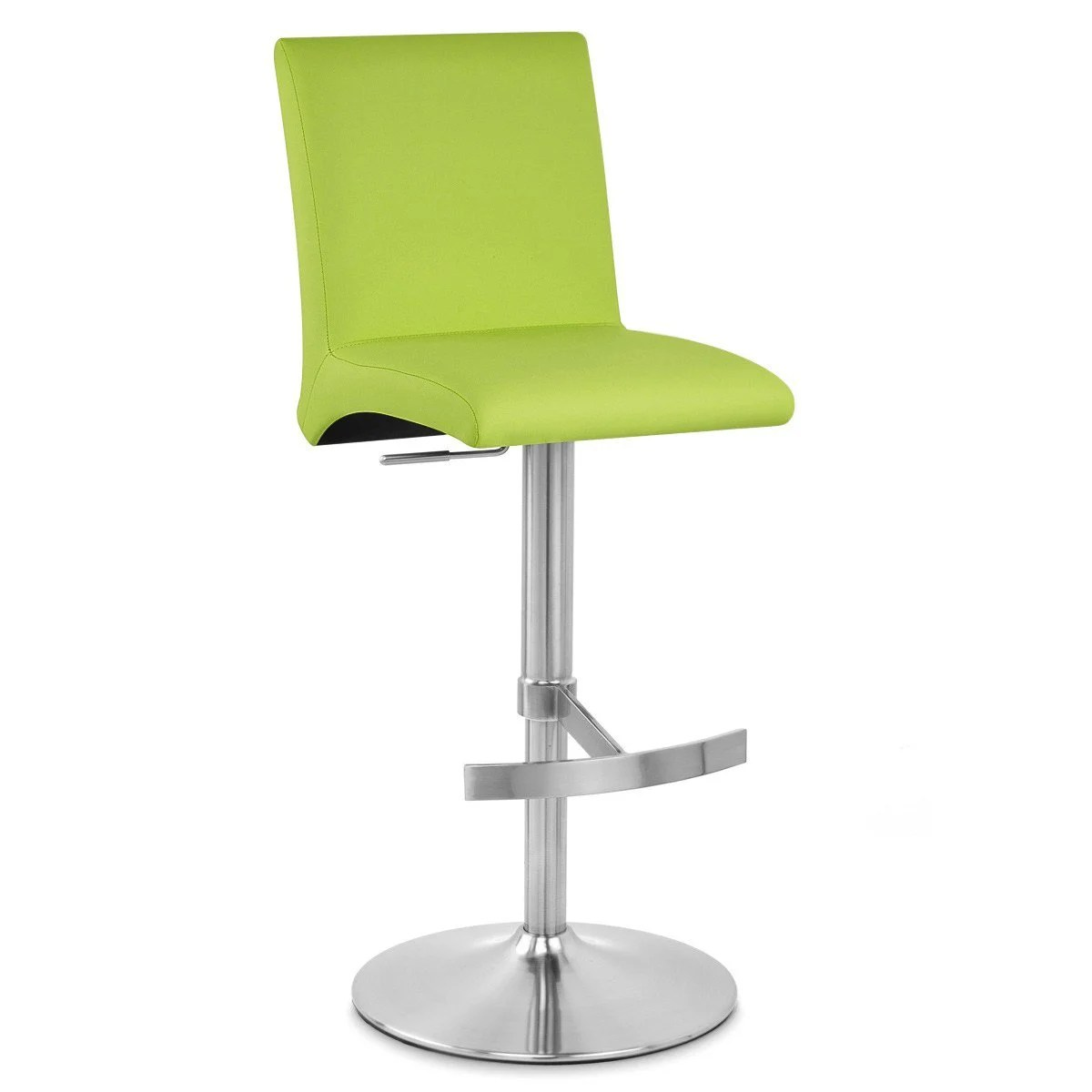 Tabourets Bar Verts Tabouret De Bar Design Simili Cuir Vert Deluxe High Back