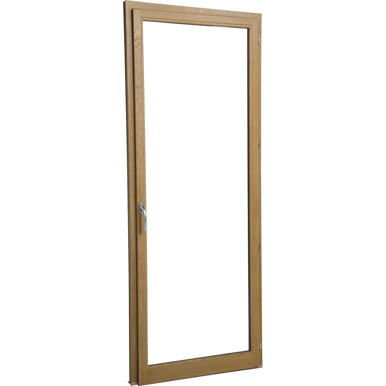 Porte Fenêtre Bois Brico Essentiel 1 Vantail Ouvrant à La