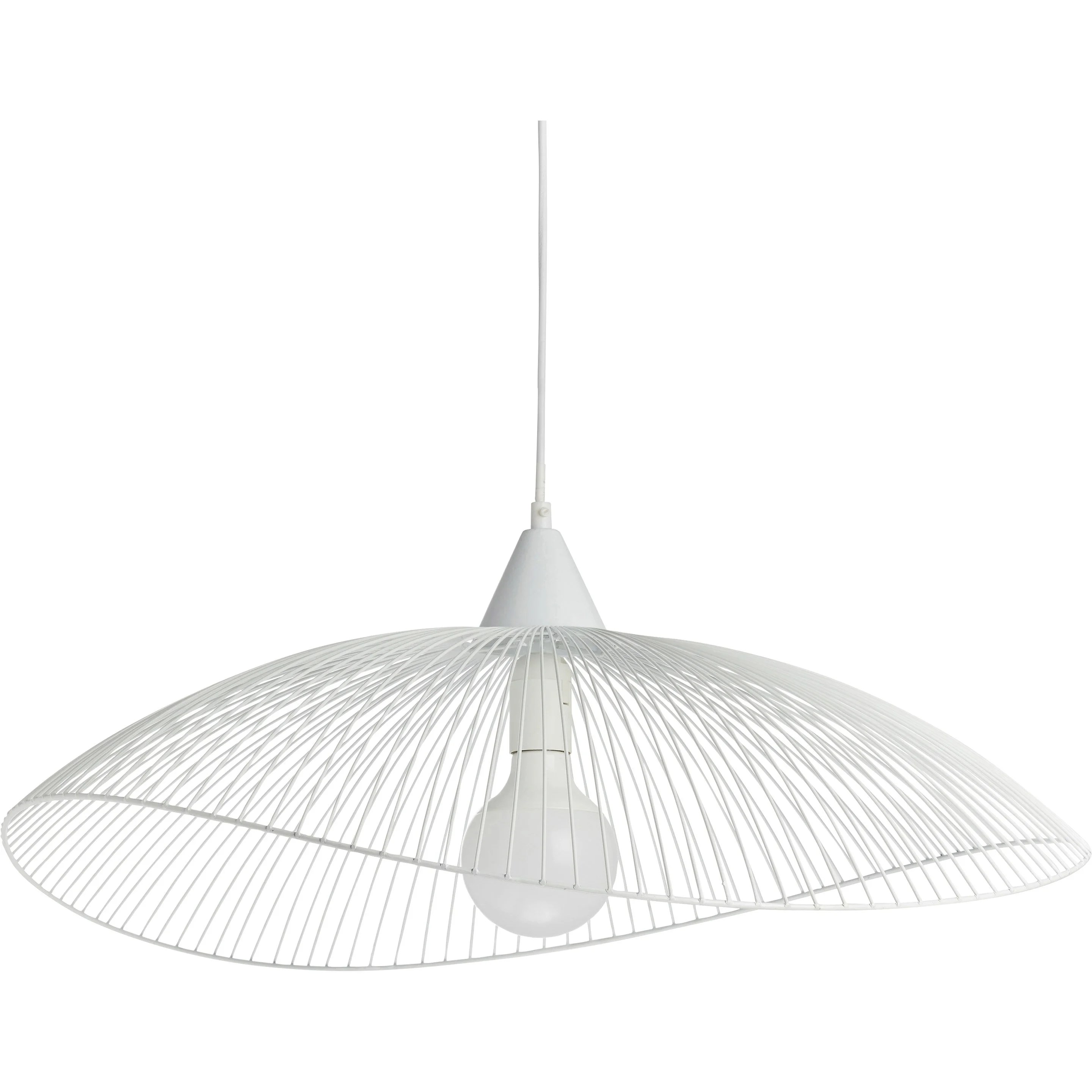 Applique Liseuse Leroy Merlin Suspension, E27 Scandinave Kasteli Métal Blanc 1 X 40w