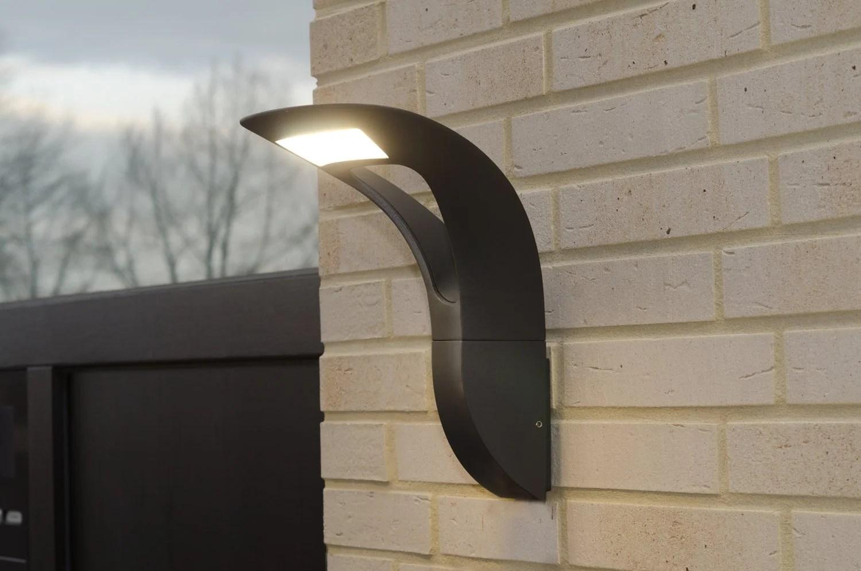 Applique exterieur solaire design archa 588875 keria luminaires