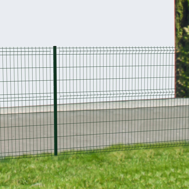 Panneau Soudé Jardin   Piquet De Cloture Metallique Pas Cher Panneau ...