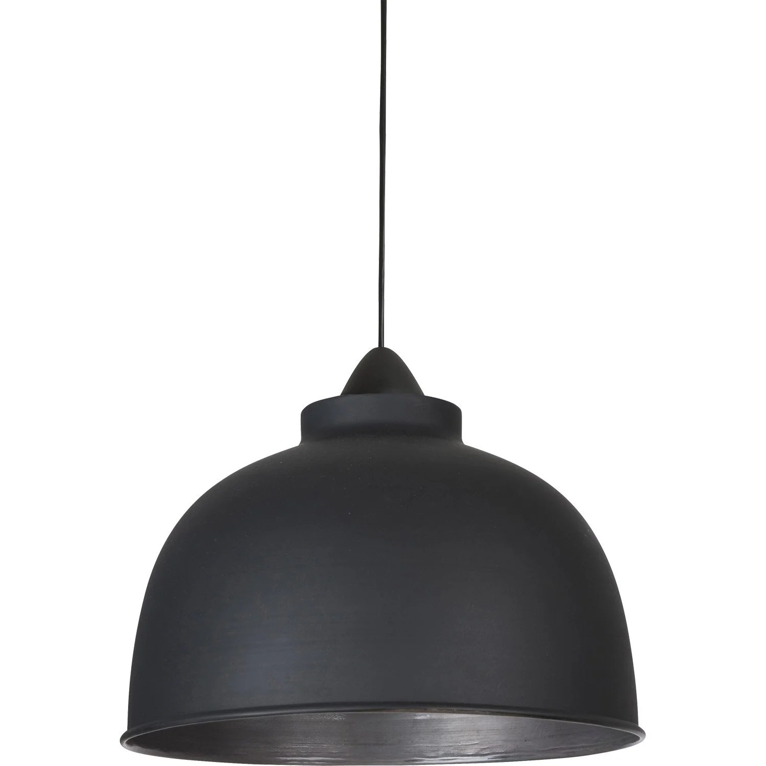 Lampe Suspension Style Industriel Suspension Luminaire Corep Style Industriel Little Dock Métal Noir Mat 1x60 W E27