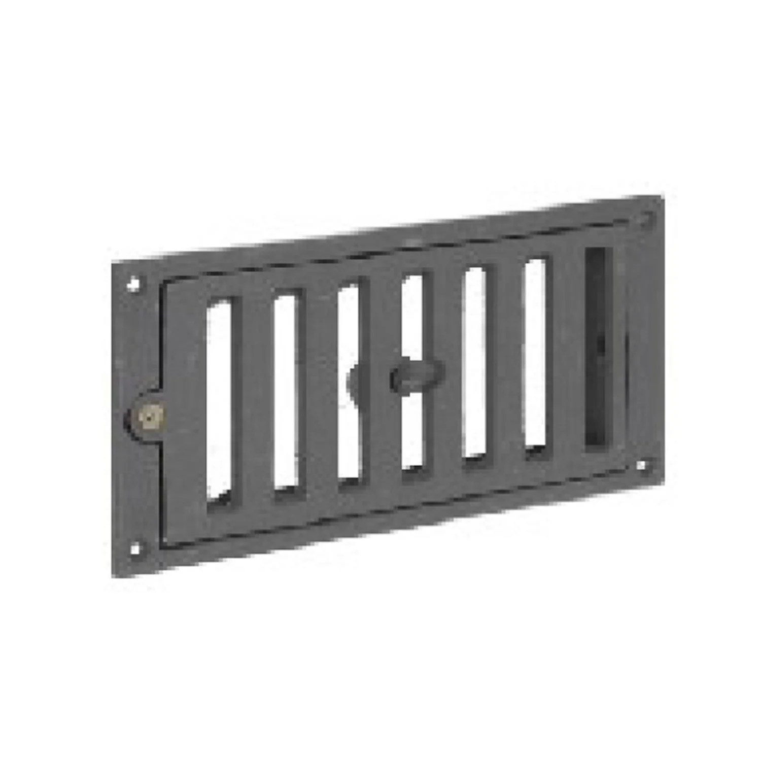 Insert Cheminee Air Exterieur Grille D 39entrée D 39air Frais Fonte Equation L 22 Cm X H 11