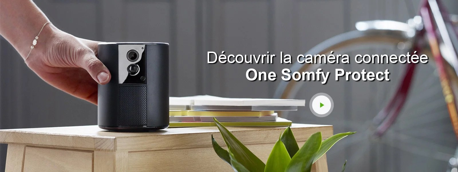 Camera Exterieur Somfy Caméra Connectée One Somfy Protect Leroy Merlin